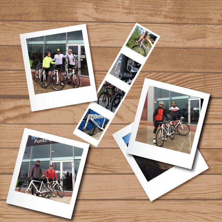 El pasado sábado 16 de abril se hizo el test de frenos de disco en las bicis de carretera, un evento especialmente realizado para todos los aficionados al ciclismo de carretera para probar los frenos de disco Shimano.  Queremos dar las gracias a todos los participantes al evento y agradecer la implicación del personal de Macario en este tipo de acciones  #bikestocks #macario #shimano #bici #bicis #bicicleta #bicicletas #carretera #evento #freno #disco Macario Llorente Shimano España