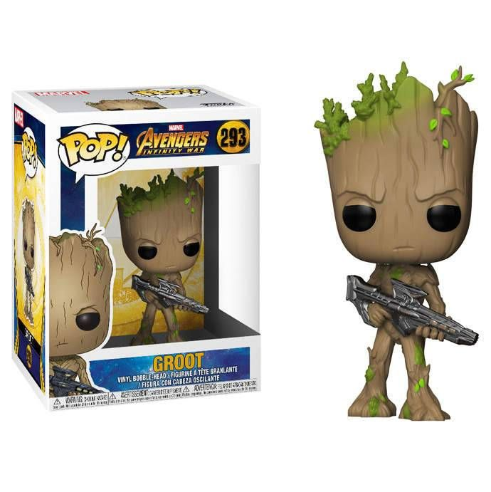 Funko Pop Marvel Avengers Infinity War Groot Figure Toy Buy At G4sky Net Funko Pop Avengers Funko Pop Marvel Pop Marvel