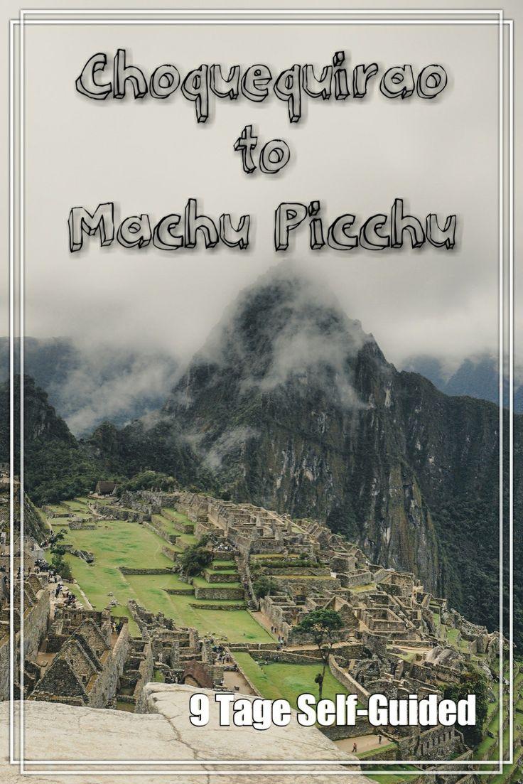Choquequirao to Machu Pichu - 9 Tage wandern ohne Guide von Choquequirao nach Machu Picchu
