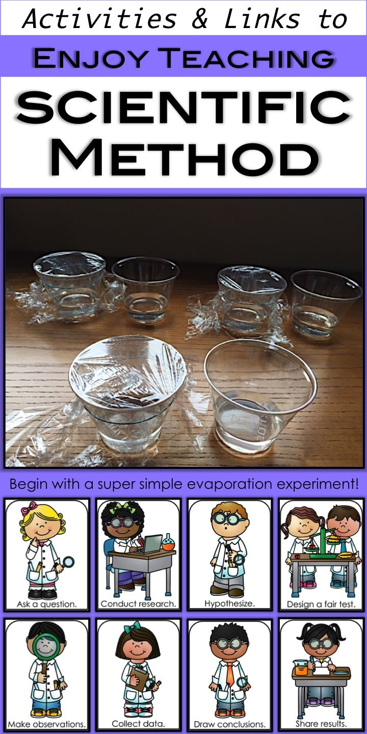 Do you want to have some fun teaching scientific method? Visit Enjoy-Teaching.com for ideas, activities, links, and freebies. Your third grade, fourth grade, and fifth grade students will love the simple experiments, videos, and cute posters!