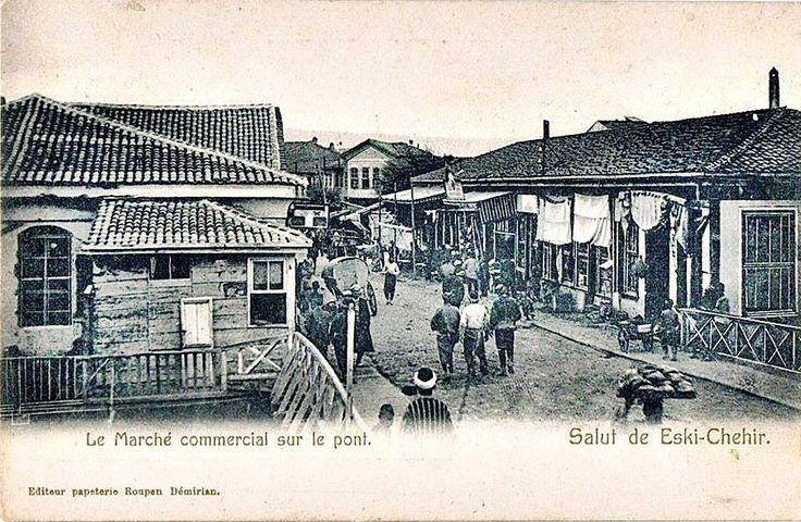 Eskişehir-1900 1910 arası bir arşiv.Ermeni Roupen Demirian koleksiyonu