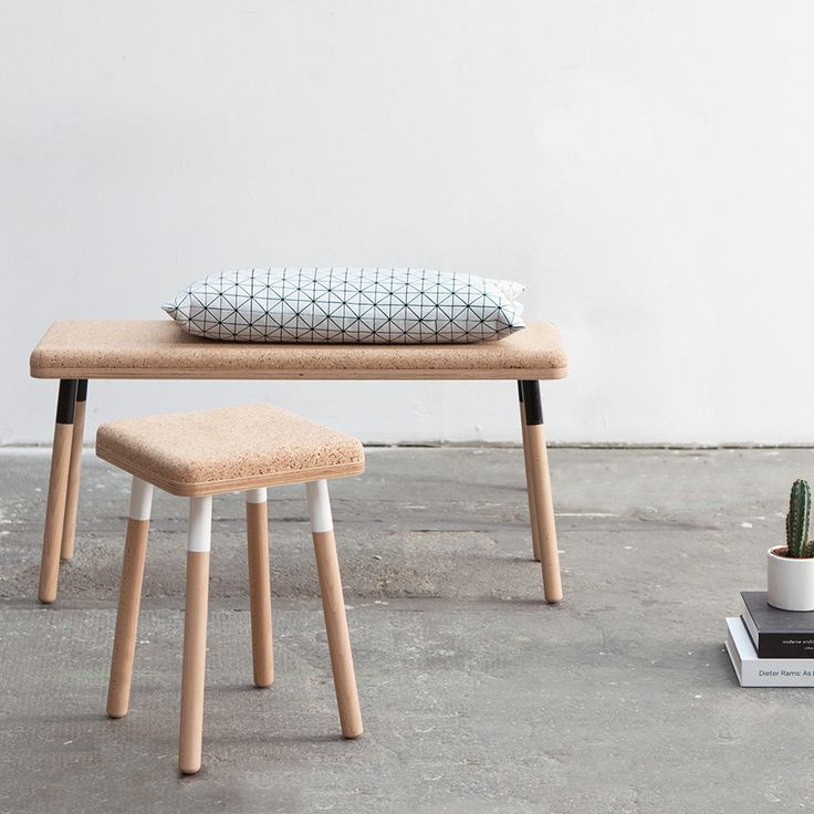 Komfortables Sitzdesign aus Kork