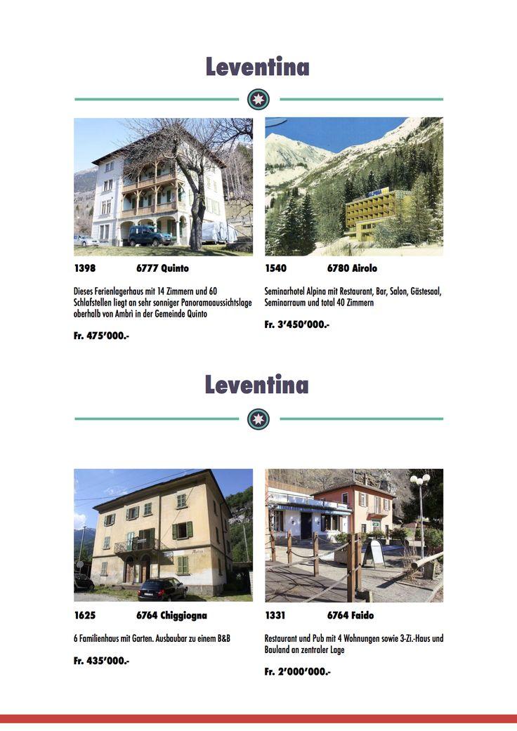 Interessante Geldanlage in Ferienimmobilien in der Schweiz, Tessin. B&B zu verkaufen bei CasaHome Immobilien.