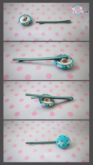 Hé les filles, ce DIY, simple comme bonjour, est pour vous... Pour réaliser de jolies barrettes assorties à tes vêtements, il te faut des barrettes et des boutons le tuto sur  :  www.sevedeco.com