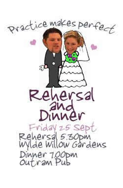 Wedding rehearsal dinner fun invitation idea http://www.bemyguest.co.nz/having-a-wedding-rehearsal-dinner-heres-some-things-to-think-about/