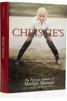 Assouline Books | Vintage The Personal Property of Marilyn Monroe by Christie's New York hardcover book | NET-A-PORTER.COM - StyleSays