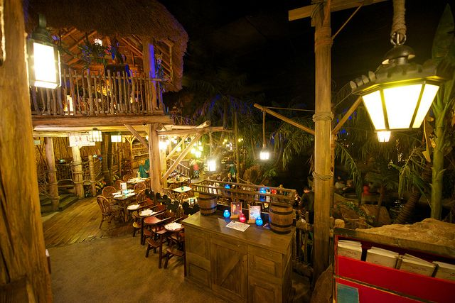 Blue Lagoon Restaurant in the Pirates of the Caribbean at Disneyland Paris #DLP #DLRP #Disney