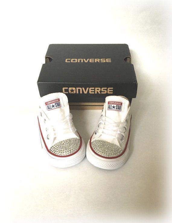 Strass Converse Kinder Strass Converse Kids Bling von ShopWildRose