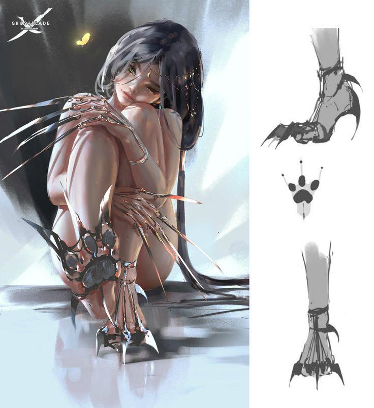 Claw by wlop.deviantart.com on @DeviantArt