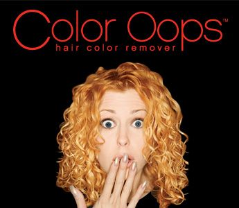 Color Oops is a revolutionary product that removes artificial hair color to restore hair to its original color. It not only removes unwanted color, it does so without damaging your hair. The old hair color simply rinses right out. You can even re-color the same day.