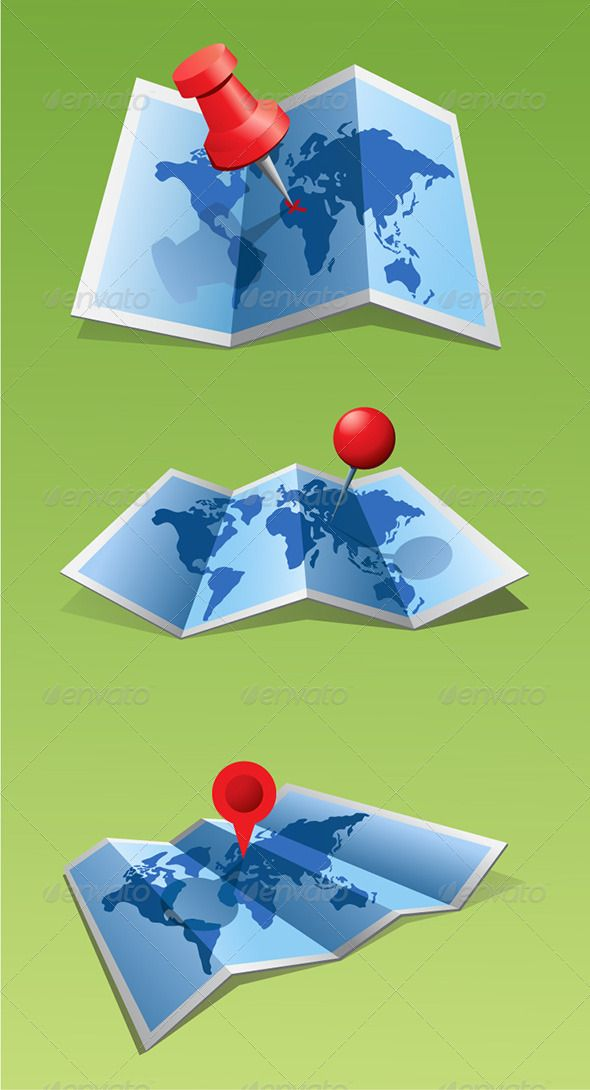198 best vectors images on pinterest font logo graphic design map with a pin gumiabroncs Choice Image