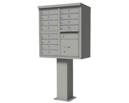 vigilant USPS 12 Door High Security Commercial Cluster Mailboxes in Forest Green by Auth-Florence. $1479.79. Budget Mailboxes has a 1-day sale on the 12 Door High Security CBU Postal Grey by Auth-Florence. This item is sometimes also known as: 1565-12PG - B00819WK1Y - - WL-1565-12PGBM, 1565-12AF, 1565-12SP