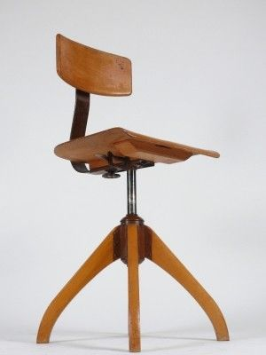 1930's Bauhaus Architects Chair — Pigeon Vintage Furniture