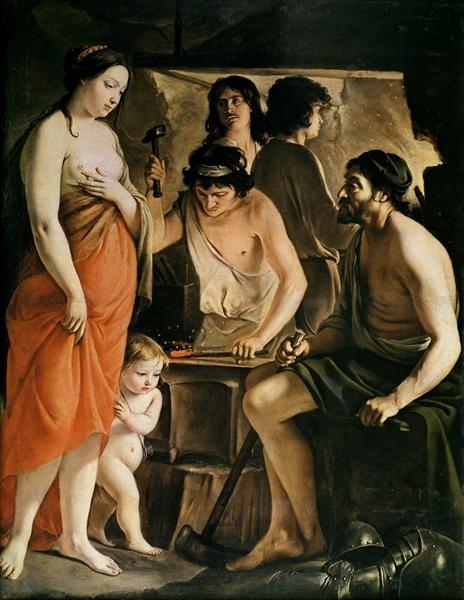 Velazquez, Mercurio ed Argo (c.1659).