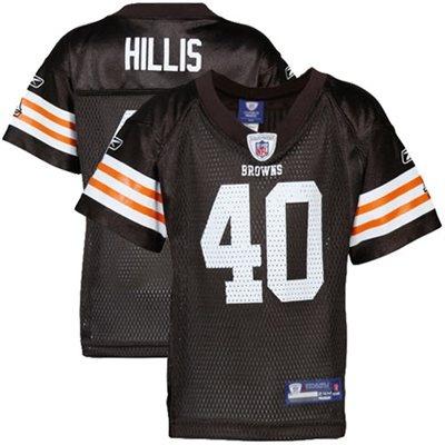 f6f7e7b8dfe ... Reebok Peyton Hillis Cleveland Browns Infant Replica Jersey - Brown ...