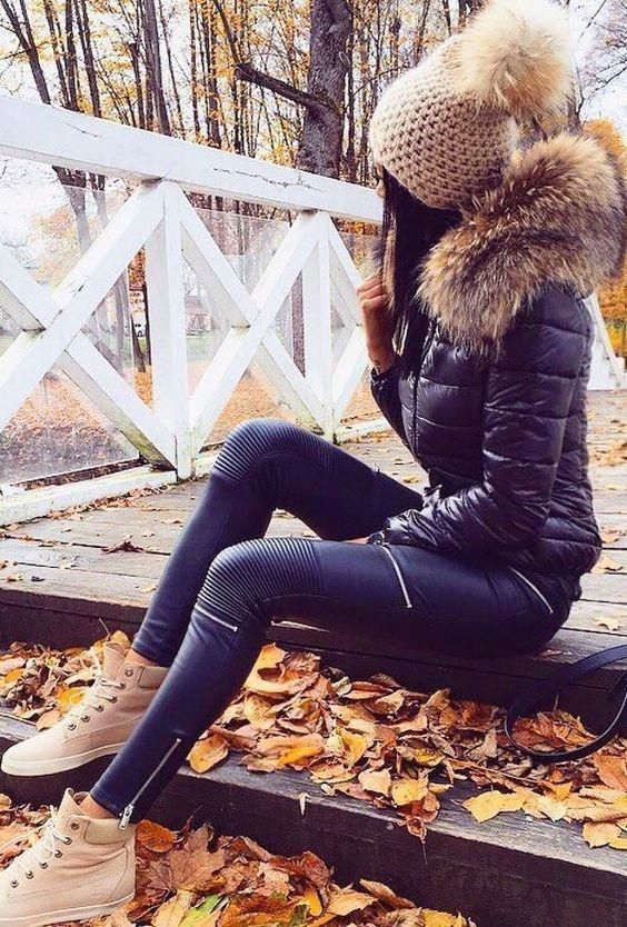 Click To Find Inspiration In These Stylish Outfit Ideas That You Will Fall In Love Fallfashionoutfitsgr In 2020 Winter Outfits Winter Fashion Outfits Outfits Invierno