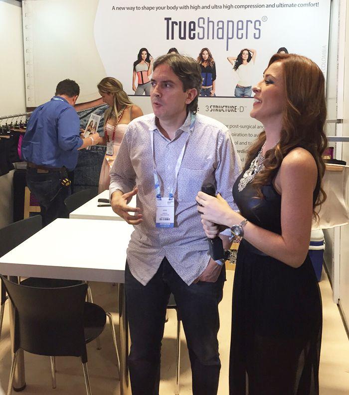 TrueShapers en entrevista exclusiva con el canal life design. Ultimo dia de #Colombiamoda2015 www.trueshapers.com