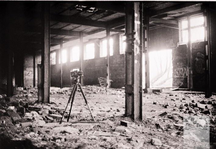 Taken in an old industrial factory. This was taken on Kodak Tri-X 400 using a Leica M4-P.  www.christophheinrich.de