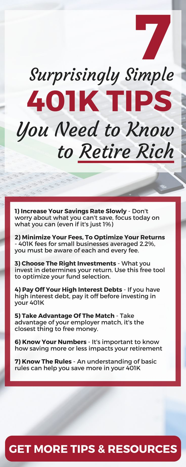 Investment policy statements for 401k plans - 7 Simple 401 K Tips You Need To Know To Retire Rich