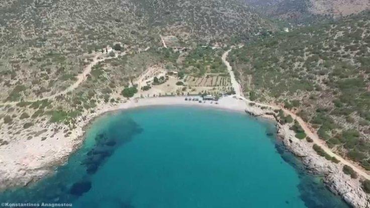 Παραλία Καρίντα Χίος - Karida beach Chios