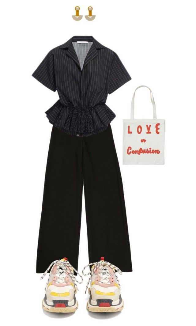 """We are artists, we are sensitiv as f*ck"" by vesleku on Polyvore featuring Tome, Balenciaga and Rachel Comey"