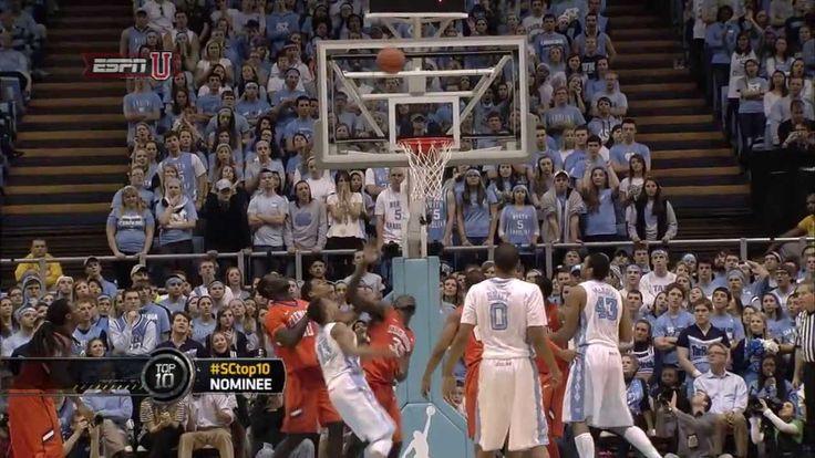 UNC Men's Basketball: J.P. Tokoto hanging one-handed