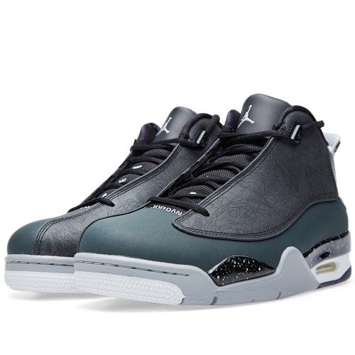 Nike Air Jordan Dub Zero (Black, White & Charcoal)