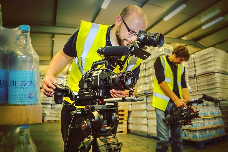 We've got our eyes on you - 'Behind the scenes' footage from the filming of our 'day in the life of Hildon' video. You can view our video on our website.