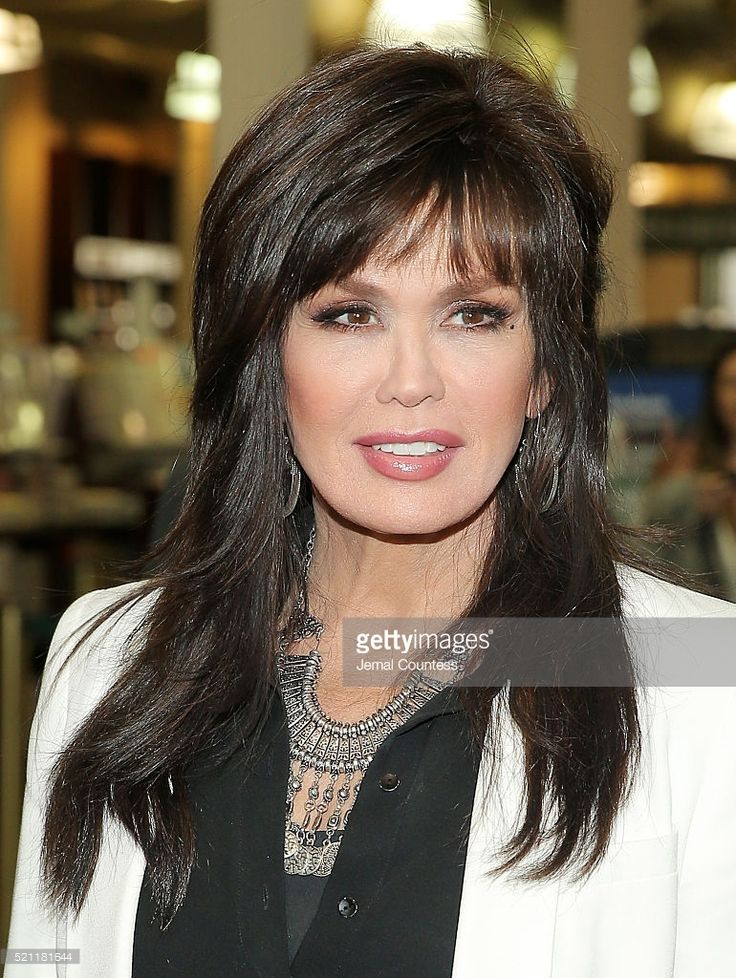 Marie Osmond poses for a photo at a book signing for her new book 'Music Is Medicine' at Barnes & Noble Union Square on April 14, 2016 in New York City.
