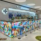 Damien Hirst revives his medically themed restaurant in collaboration with British chef Mark Hix