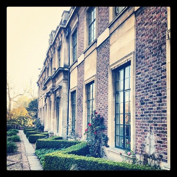 Eltham Palace in the sunshine