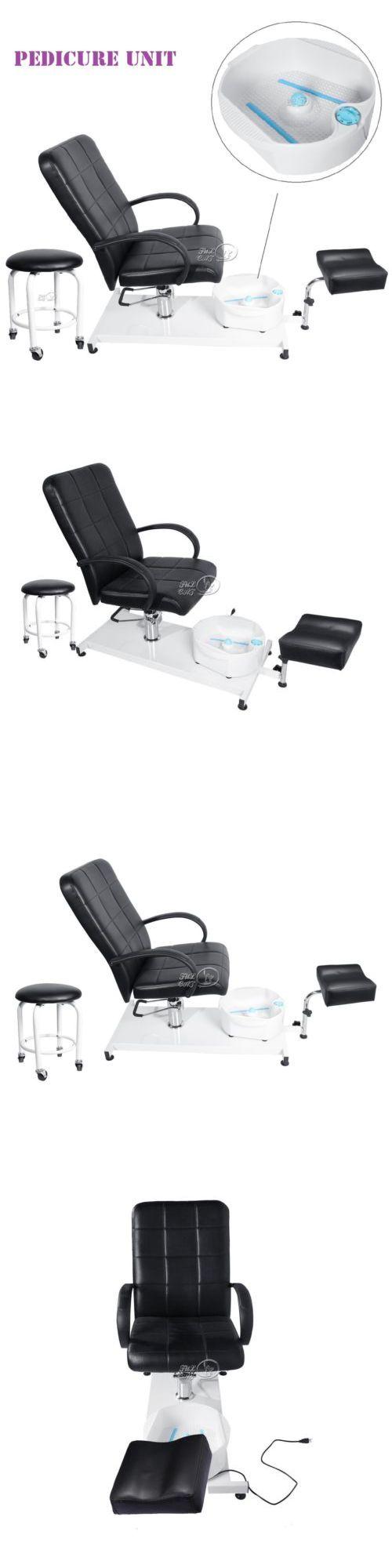 Spas Baths and Supplies: Pedicure Unit Station Hydraulic Massage Wash Foot Chair Set Spa Salon Footbath BUY IT NOW ONLY: $281.99