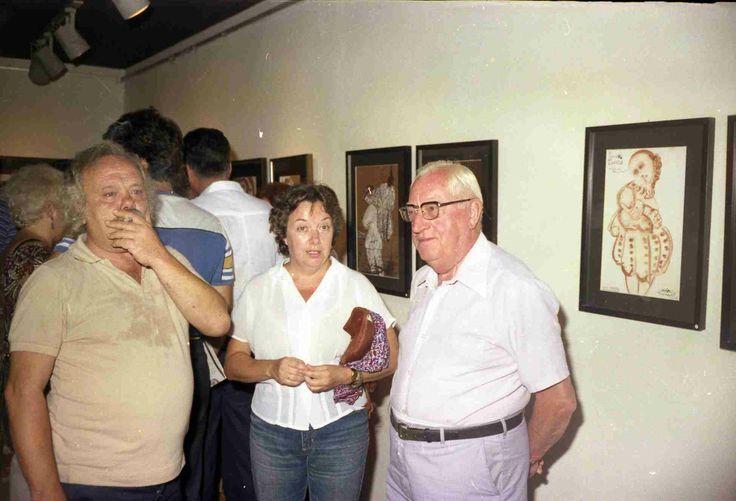 Dramatis Personae a la Galeria Vilanova Sala - Agost de 1983