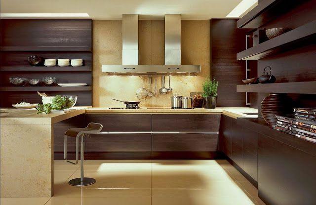 Combinaciones de color interesantes para cocinas