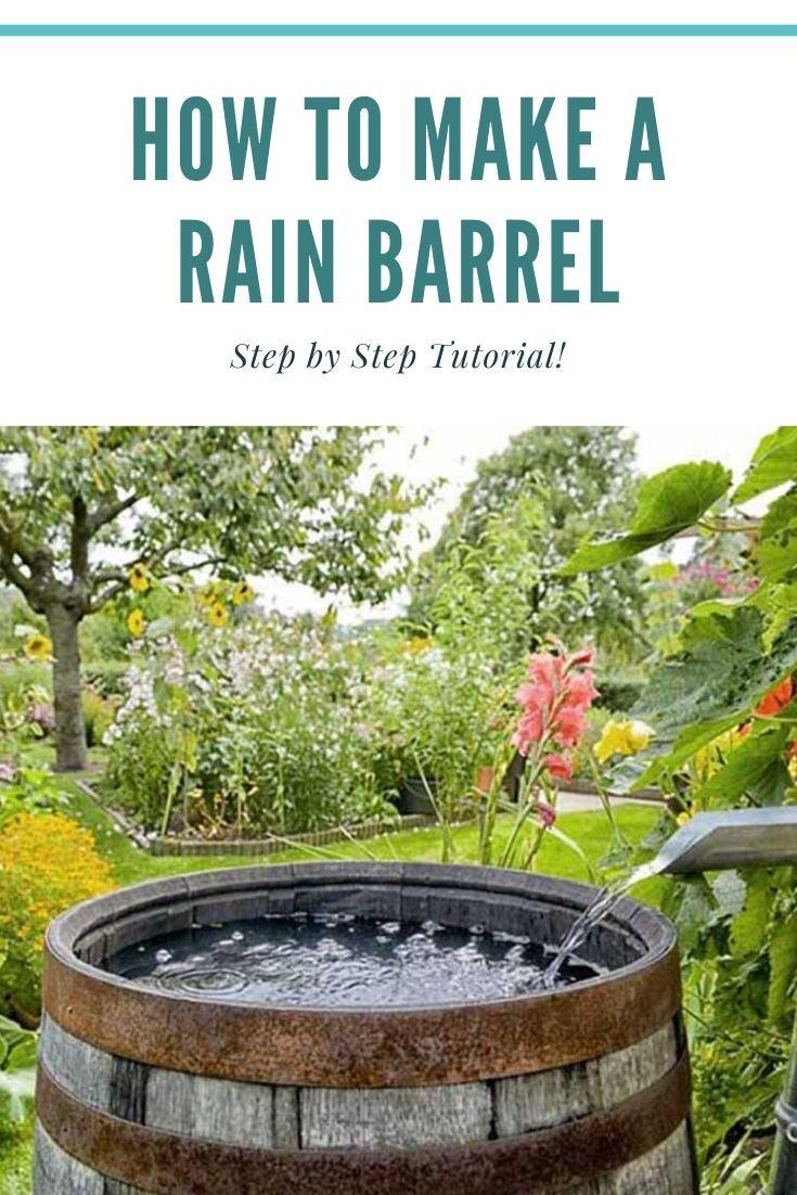 How to make a rain barrel in 2020 rain barrel ways to