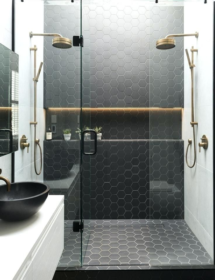 Hexagon Tiles Bathroom Best Tile Images On Bathroom Hexagon Tiles And Hexagon Tiles Bathroom Floor Diseno De Banos Platos De Ducha Disenos De Unas