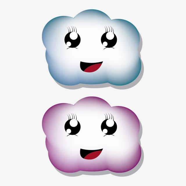 Cute Clouds Kawaii Style Icon Smile Cloud Png And Vector With Transparent Background For Free Download Kawaii Anime Anime Smile Kawaii Illustration