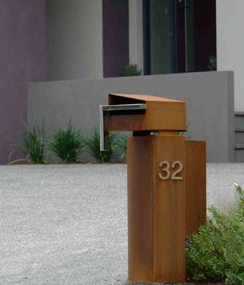 Jass Design | letterbox 32 | enlarged | Water Features, Sculptures, Kinetic Sculptures, Garden Decor |