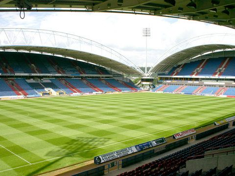 The Galpharm Stadium, Huddersfield Town