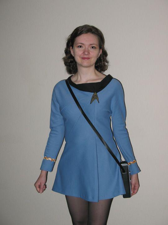 Flo In A Science Uniform  Star Trek Cosplay, Star Trek -3903