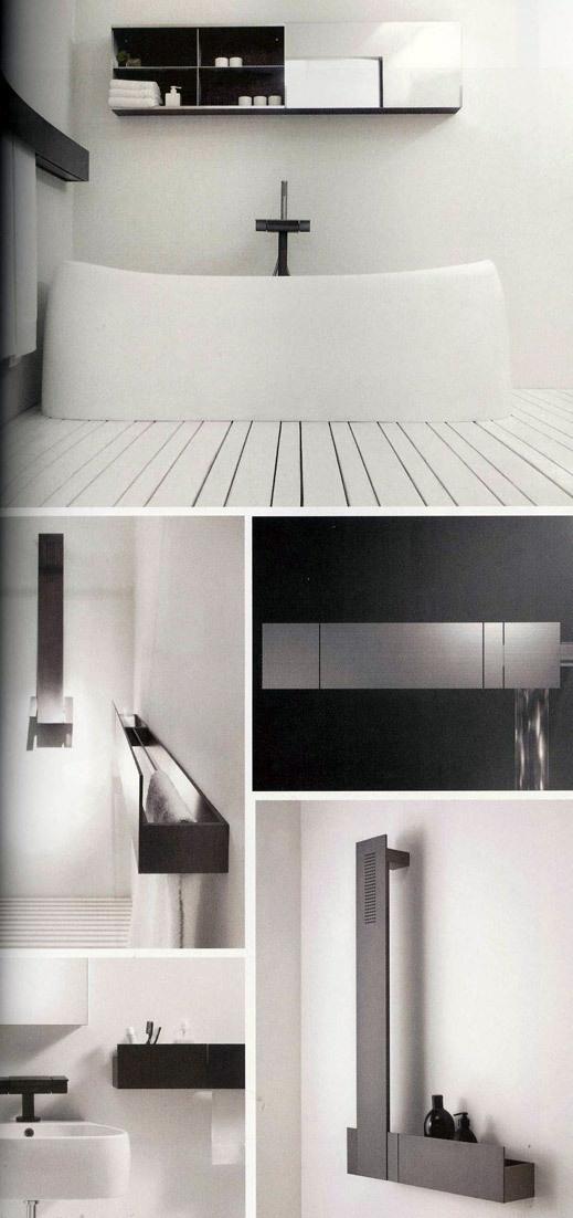 agape. | mobiliario para el cuarto de baño. Sen accessories, shelf (40 or 80cm wide) for shower or ground floor toilet