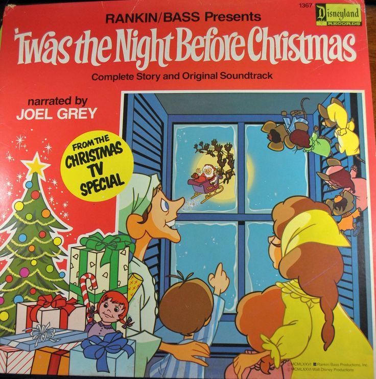 1970s Christmas record- my favorite Christmas movie as a child