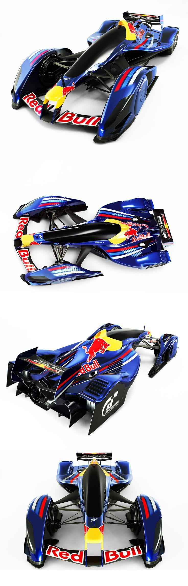 Red Bull X2010 F1 concept from Gran Turismo 5
