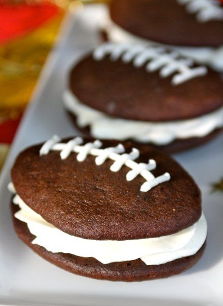 whoopie pies at a wedding | had to share this awesome Super Bowl dessert recipe from Lauryn ...
