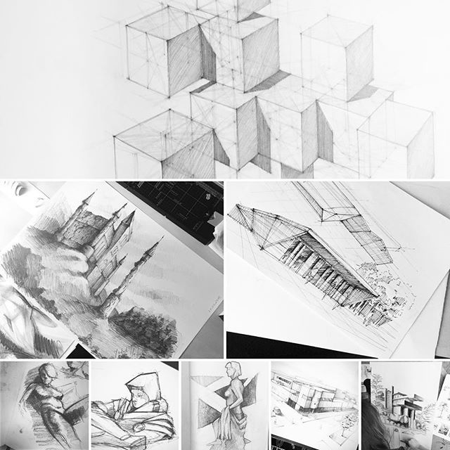 Zapraszamy do nas w Gdyni ;) #stajemysienajlepsi #zosyanarchitwktem #kursrysunku #szkolarysunku #rysunek #architektura #gdansk #gdynia #sopot #pomorskie #pg #draw #drawing #