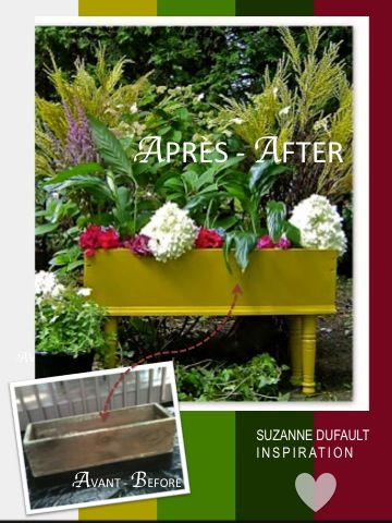 Curb Appeal...New look for an old flower box without breaking the bank!