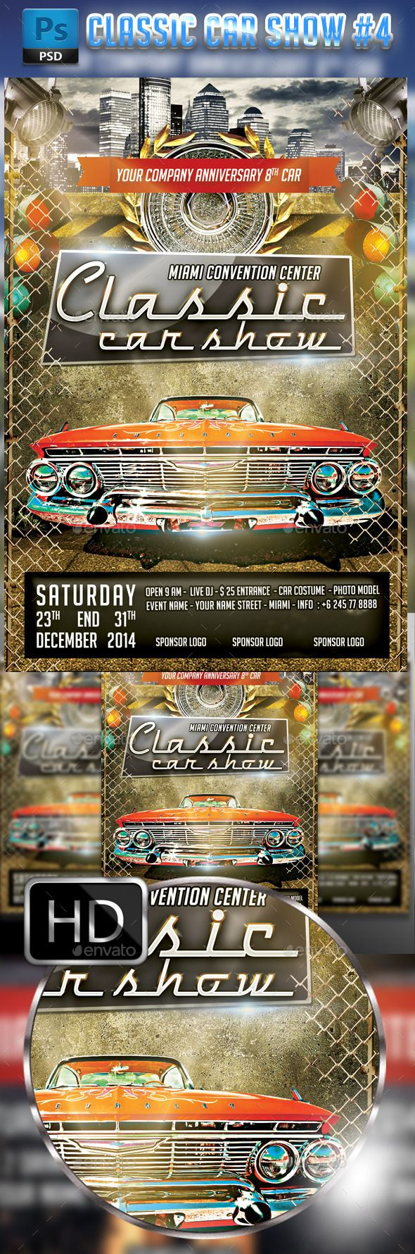 Car And Bike Show Flyer Template APPLESTORY - Car and bike show flyer template