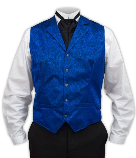 Twin City Vest - Royal Blue