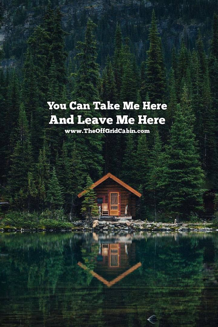 Discover a world totally off grid at www.TheOffGridCabin.com We want you to come visit us and stay as long as you like. If you're looking to build your own off grid cabin... you found the right place. PIN this to your off grid board :)