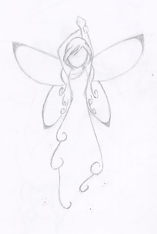 Fairy by angelkittin on deviantART  Will go on my right shoulder so I will always have an angel watching over me <3